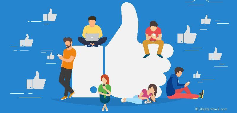 kommunikation på facebook
