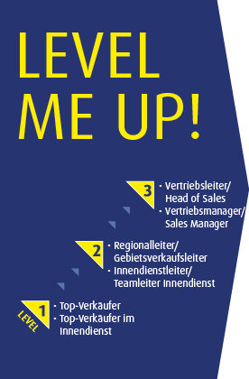 Level Me Up - Career Lines Vertrieb