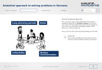 e-Learning: How to Work Successfully in German Culture