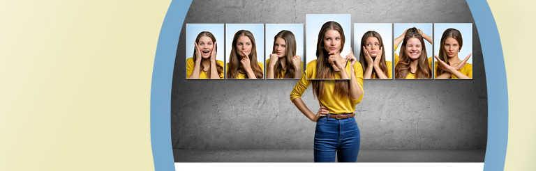 Beispiele körpersprache mimik gestik Gestik und