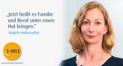 s.mile erleichtert Entwicklung: Angela Hohenacker