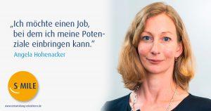 Haufe Akademie Projekt s.mile erleichtert Entwicklung: Angela Hohenacker