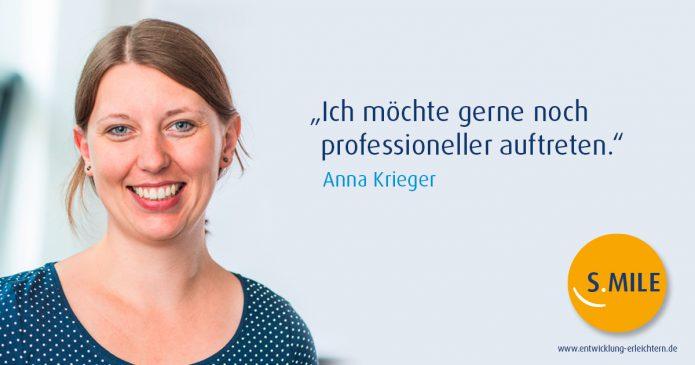 Haufe Akademie Projekt s.mile erleichtert Entwicklung: Anna Krieger