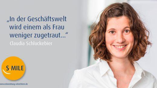 s.mile erleichtert Entwicklung: Claudia Schluckebier