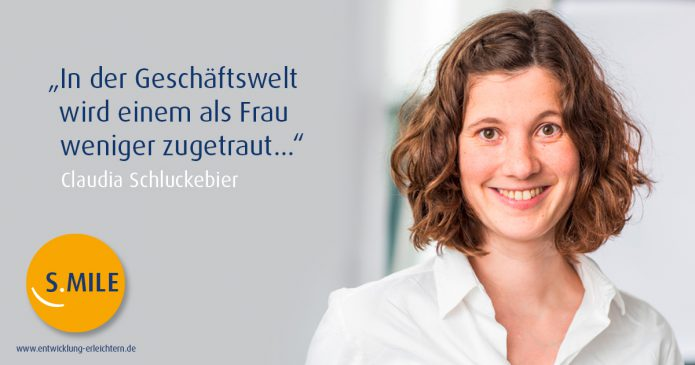 Haufe Akademie Projekt s.mile erleichtert Entwicklung: Claudia Schluckebier