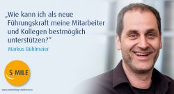 s.mile erleichtert Entwicklung: Markus Bühlmaier