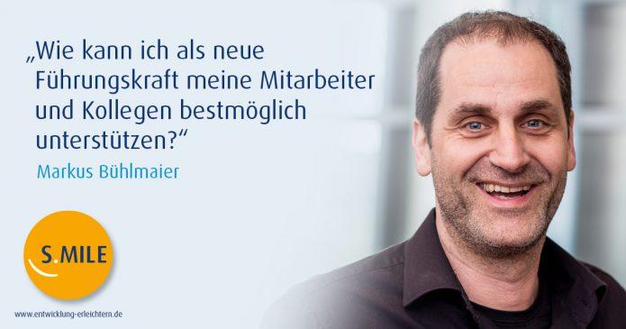 Haufe Akademie Projekt s.mile: Vorstellung Markus Bühlmeier