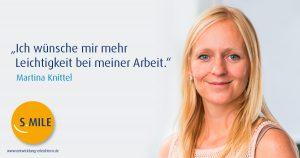 Haufe Akademie Projekt s.mile erleichtert Entwicklung: Martina Knittel