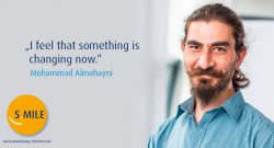s.mile erleichtert Entwicklung: Moe Almahayni