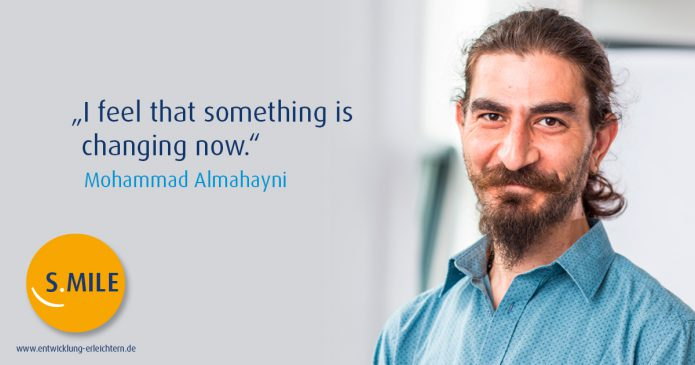 Haufe Akademie Projekt s.mile erleichtert Entwicklung: Mohammed Almahayni