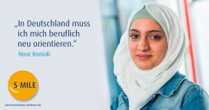 Haufe Akademie Projekt s.mile erleichtert Entwicklung: Nour Koniali