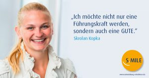 """Skrolan Kopka: """"Wenn ich mir Ziele setze, dann verfolge ich sie mit Leidenschaft."""""""