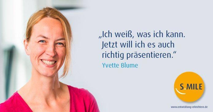 Haufe Akademie Projekt s.mile erleichtert Entwicklung: Yvette Blume