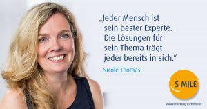 s.mile erleichtert Entwicklung: Nicole Thomas, s.mile Coach