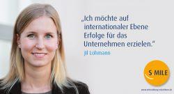 s.mile erleichtert Entwicklung: Jil Lohmann
