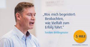 s.mile erleichtert Entwicklung: Torsten Bittlingmaier, Headcoach von s.mile