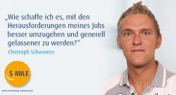s.mile erleichtert Entwicklung: Christoph Schwemer