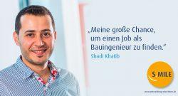 s.mile erleichtert Entwicklung: Shadi Khatib
