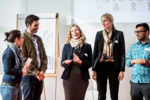 """Teilnehmer des Projekts """"s.mile"""" hatten gemeinsam die Möglichkeit, uneingeschränkt ihre individuelle Entwicklung voranzubringen."""