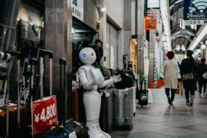 Roboter werden ein alltäglicher Teil der Arbeit sein, was neue Perspektiven bietet.