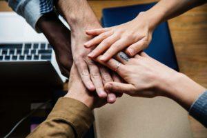 Die neue Arbeitswelt birgt Herausforderungen, die nur mit Teamwork bewältigt werden können.